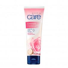 """Avon Care Маска для лица с розовой водой и маслом ши """"Сияние"""" 75 мл"""