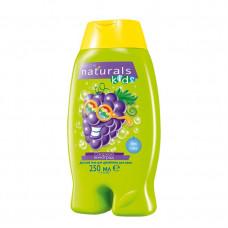 """Avon Naturals Детский гель для душа/пена для ванн """"Озорной виноград"""", 250 мл"""