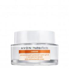 "Avon Nutra Effects Увлажняющий дневной крем для лица ""Сияние"" с SPF 20, 50 мл"