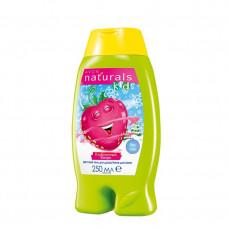 """Avon Naturals Детский гель для душа/Пена для ванн """"Клубничный вихрь"""", 250 мл"""
