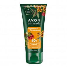 """Avon Naturals Дневной крем для лица """"Облепиха и толокнянка"""", 50 мл"""