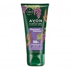 """Avon Naturals Дневной крем для лица """"Виноград и пшеница"""", 50 мл"""