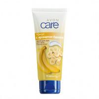 "Avon Care Крем для рук с ароматом банана ""Тонус"", 75 мл"
