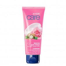 Avon Care Маска для лица с экстрактом розы и маслом ши, 75 мл