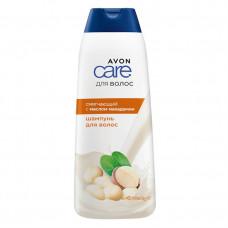 Avon Care Смягчающий шампунь для волос с маслом макадамии, 400 мл