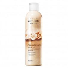 """Avon Naturals Гель для душа """"Ароматная ваниль и сандаловое дерево"""", 200 мл"""
