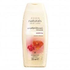 """Avon Naturals Шампунь для волос """"Непревзойденный объем. Малина и гибискус"""", 250 мл"""