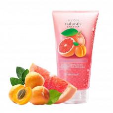 """Avon Naturals Скраб для тела с ароматом розового грейпфрута и абрикоса """"Средиземноморские приключения"""""""
